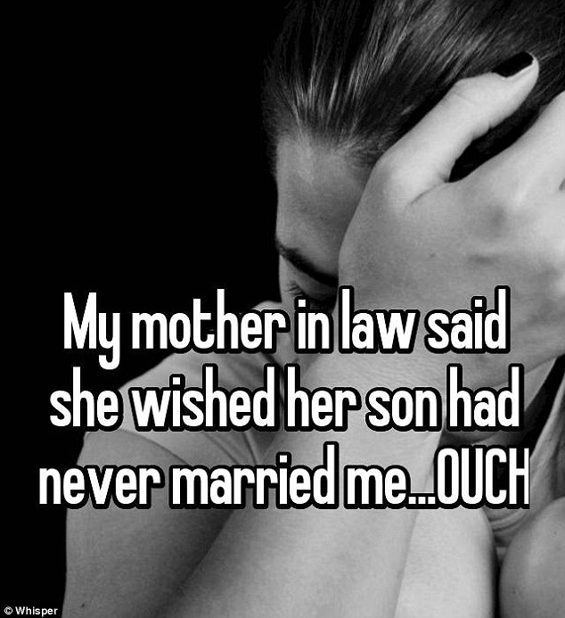 Another poor wife caught her mother-in-law cursing her.