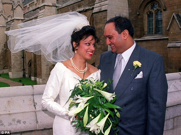 Vaz and Ms Fernandes got married in London in 1993 and have two children together
